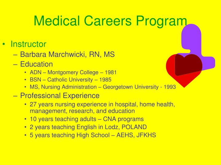 Medical Careers Program