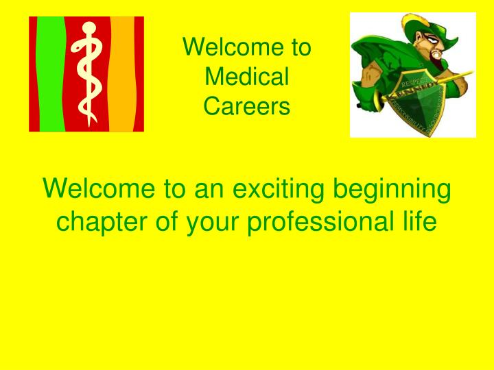 Welcome to Medical Careers