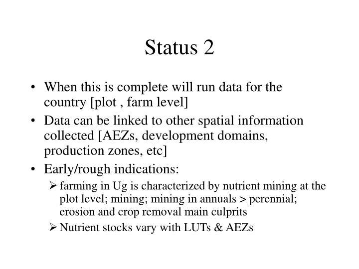 Status 2
