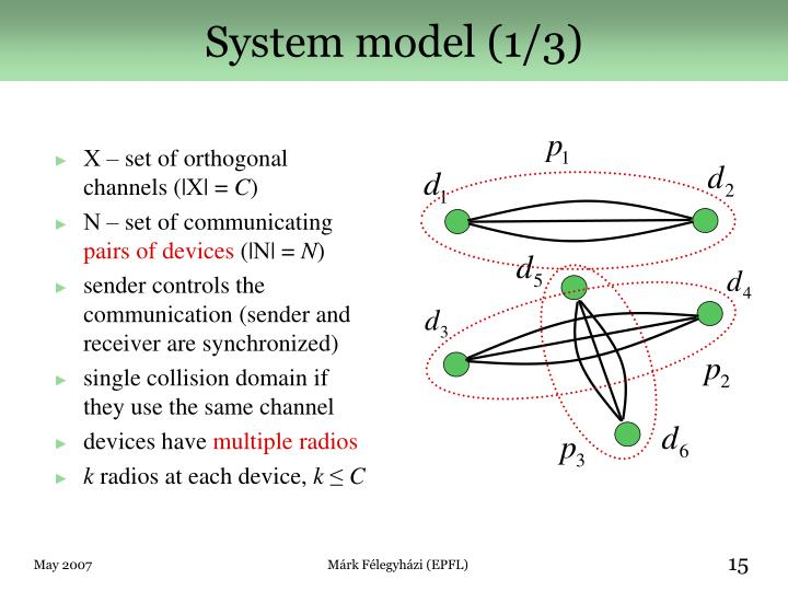 System model (1/3)