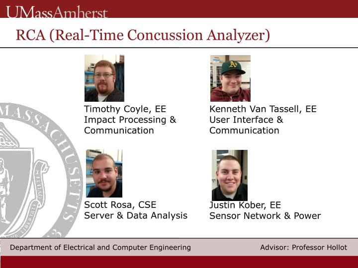 RCA (Real-Time Concussion Analyzer)