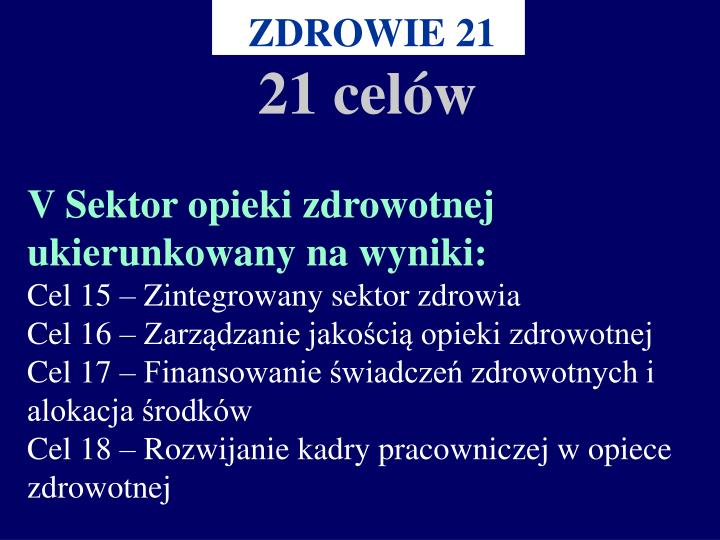 ZDROWIE 21