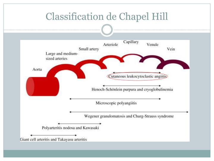 Classification de Chapel Hill