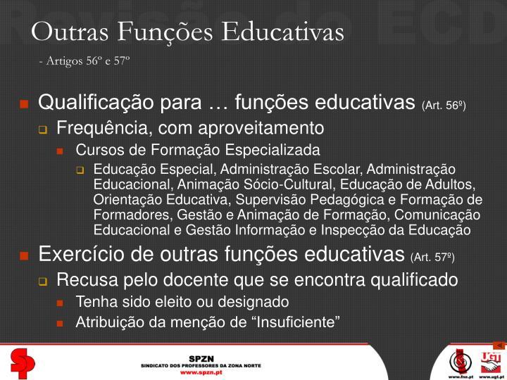 Outras Funções Educativas