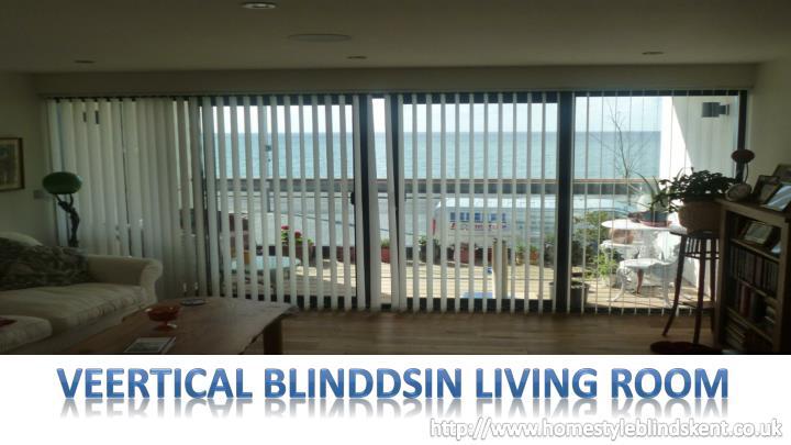 VEERTICAL BLINDDSIN LIVING ROOM