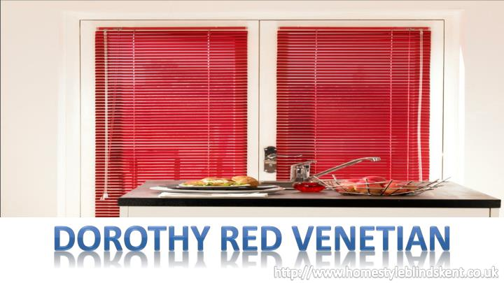 DOROTHY RED VENETIAN