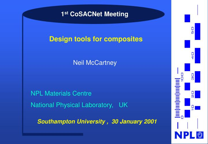 1 st cosacnet meeting