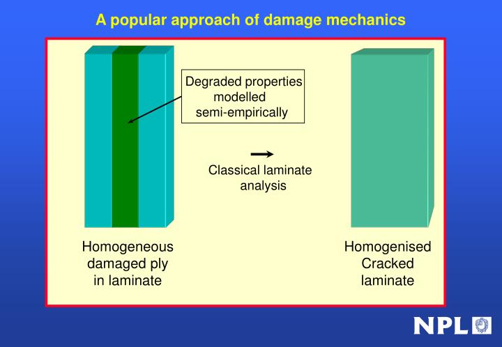 A popular approach of damage mechanics