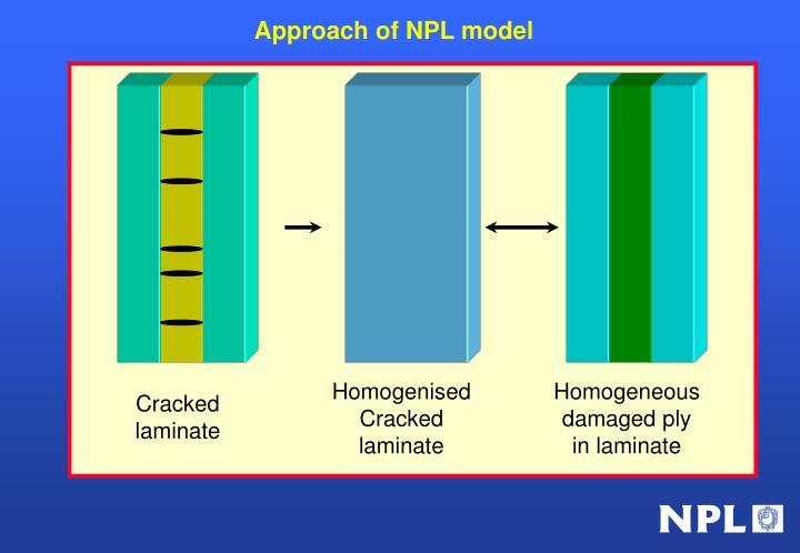 Approach of NPL model