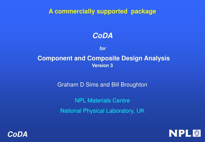 A commercially supported  package