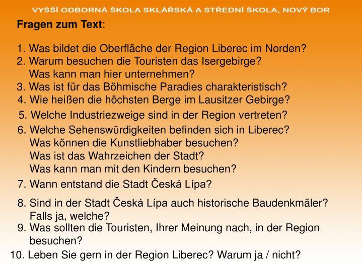 Fragen zum Text