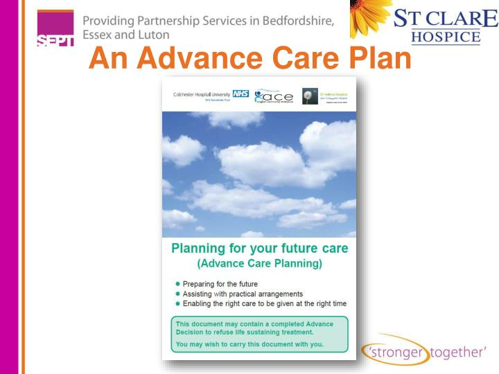 An Advance Care Plan