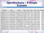 openskyquery a simple example2