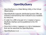 openskyquery