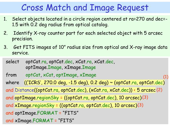 Select objects located in a circle region centered at ra=270 and dec=-1.5 with 0.2 deg radius from optical catalog.