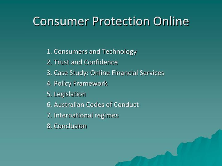 Consumer Protection Online