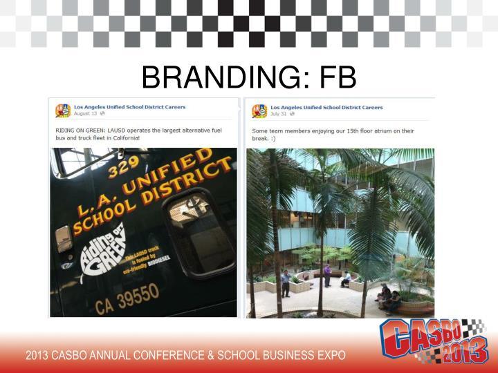 BRANDING: FB