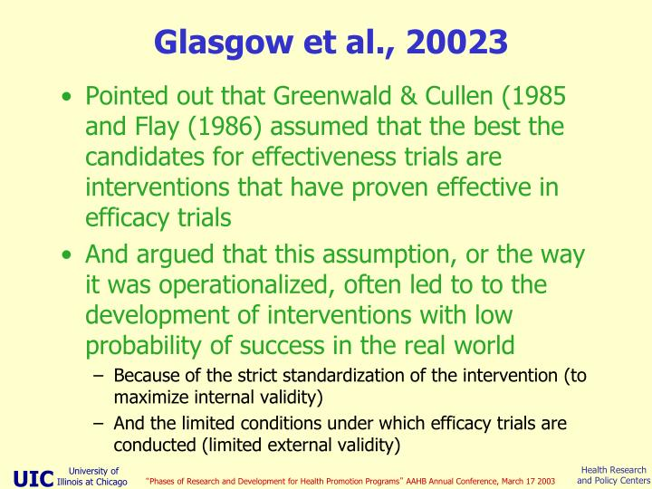 Glasgow et al., 20023
