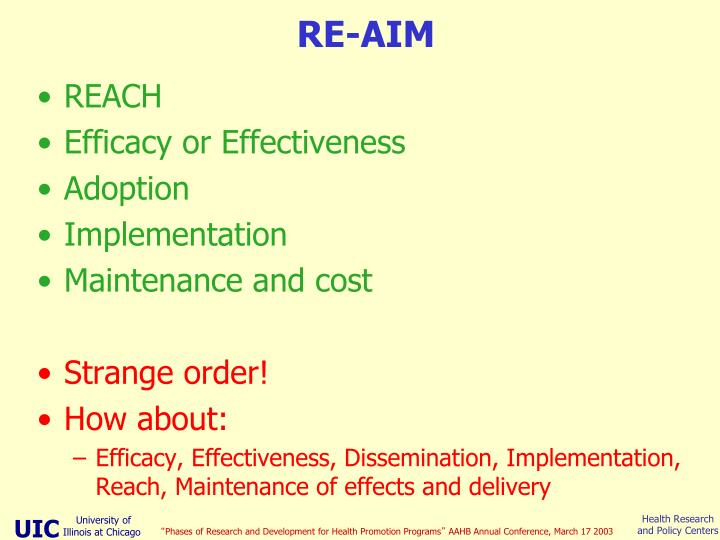 RE-AIM