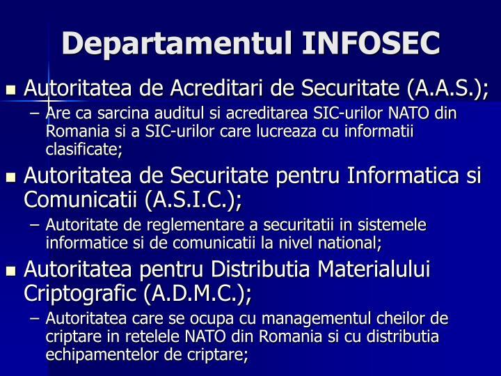 Departamentul INFOSEC