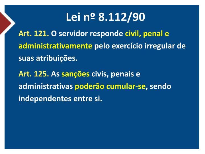 Lei nº 8.112/90