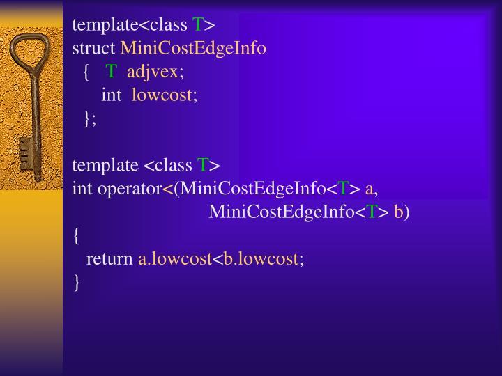 template<class