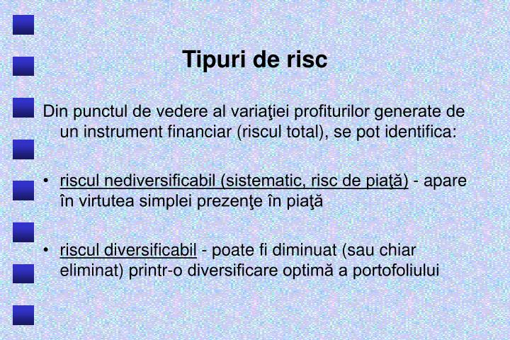 Tipuri de risc