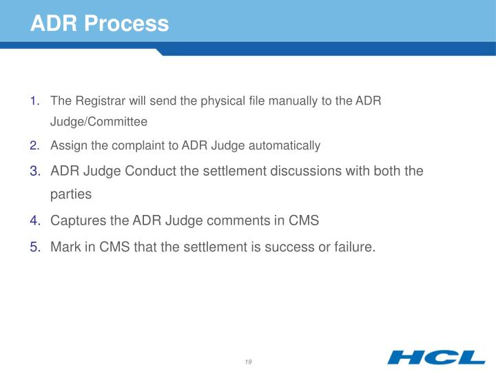 ADR Process