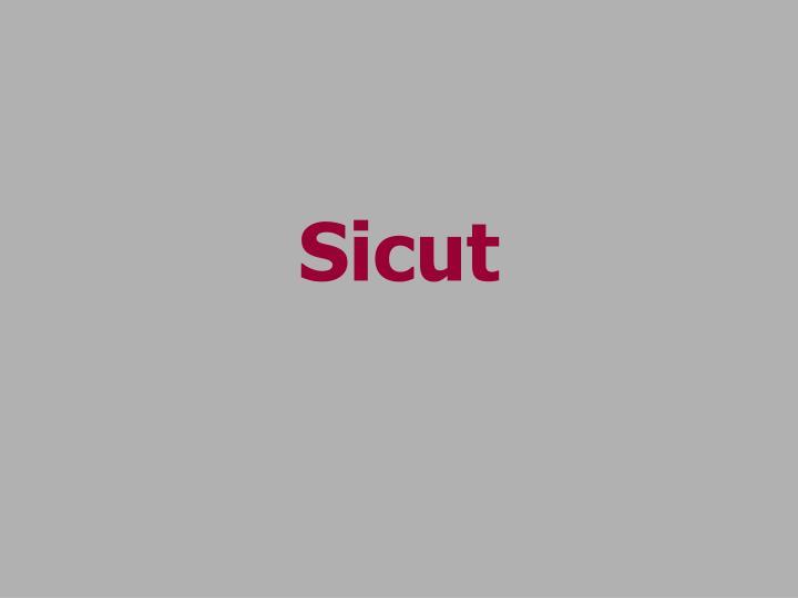 Sicut