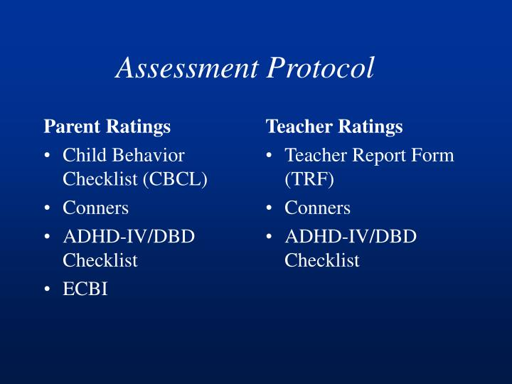 Parent Ratings