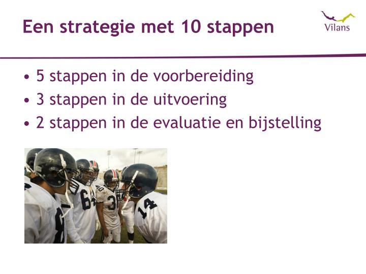 Een strategie met 10 stappen