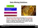 data mining solutions