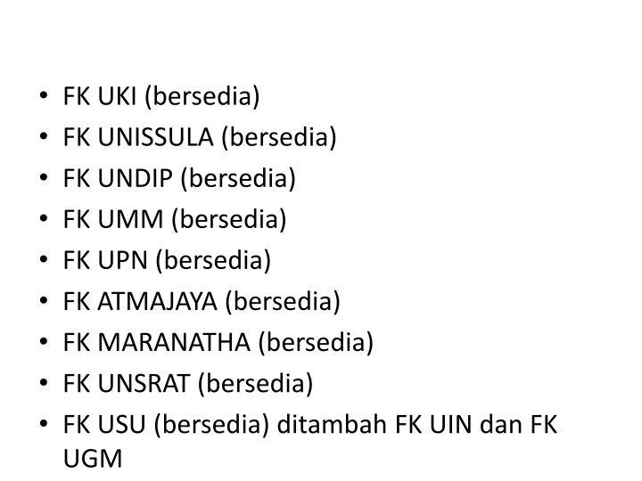 FK UKI (bersedia)