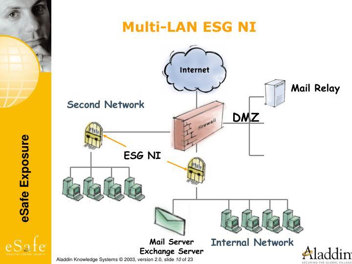 Multi-LAN ESG NI
