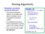 passing arguments2