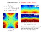 new solutions i mapped vortex sheets