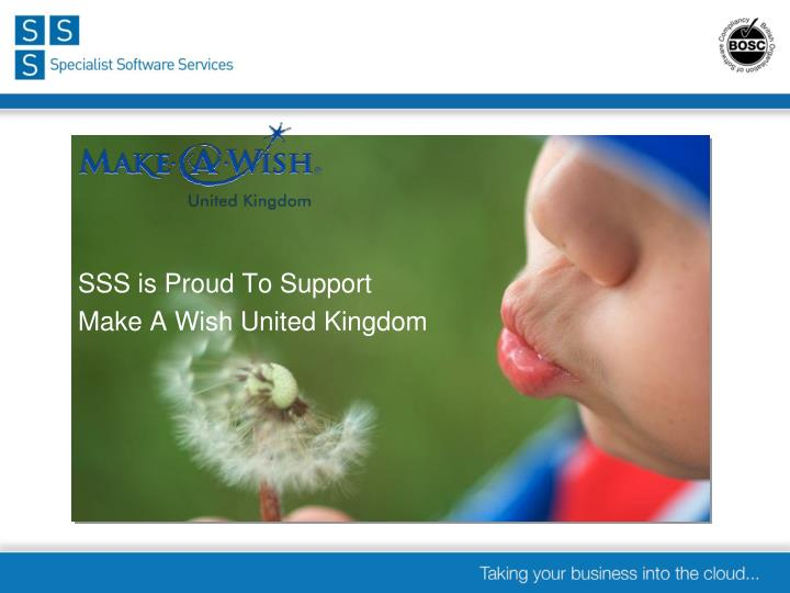 SSS is Proud To Support