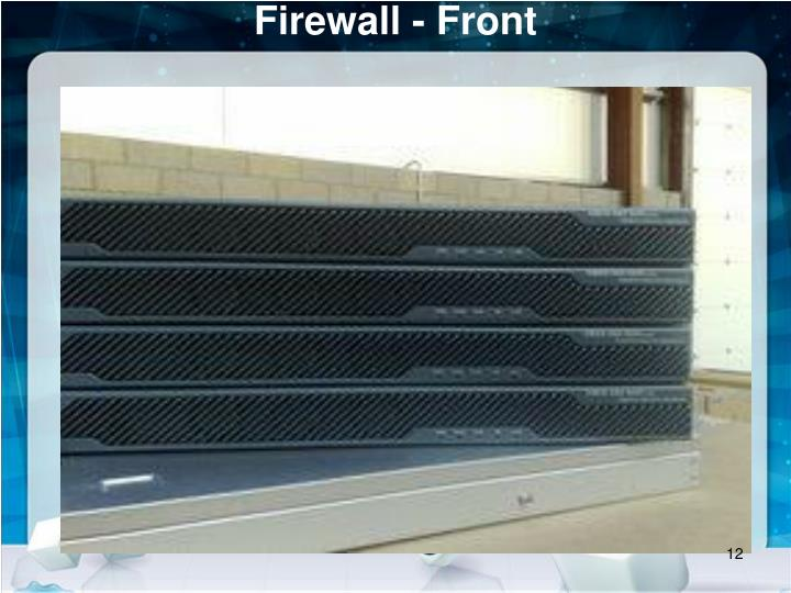 Firewall - Front