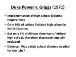 duke power v griggs 1971