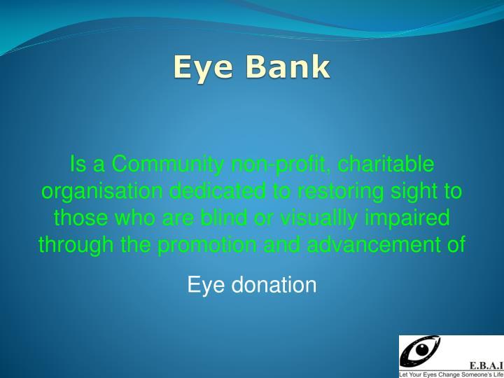 Eye Bank