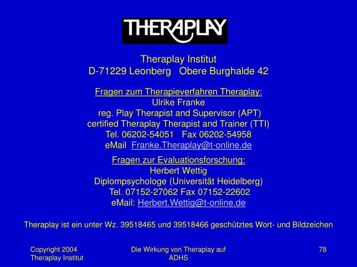 Theraplay Institut