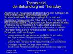 therapieziel der behandlung mit theraplay