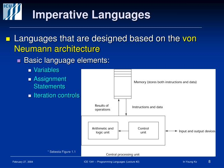 Imperative Languages