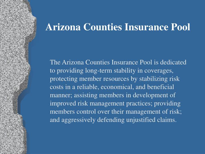 Arizona Counties Insurance Pool