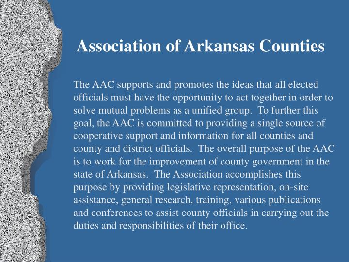 Association of Arkansas Counties