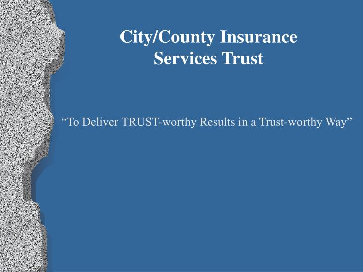 City/County Insurance