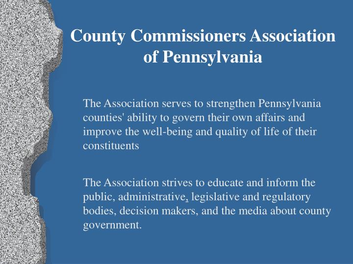 County Commissioners Association