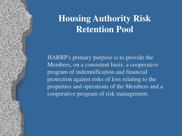Housing Authority Risk