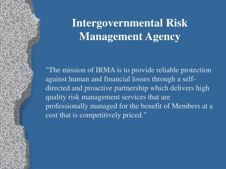 Intergovernmental Risk