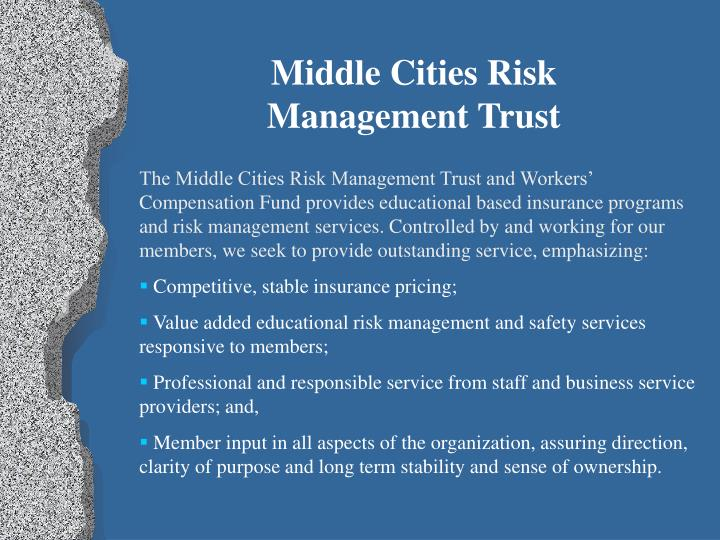 Middle Cities Risk